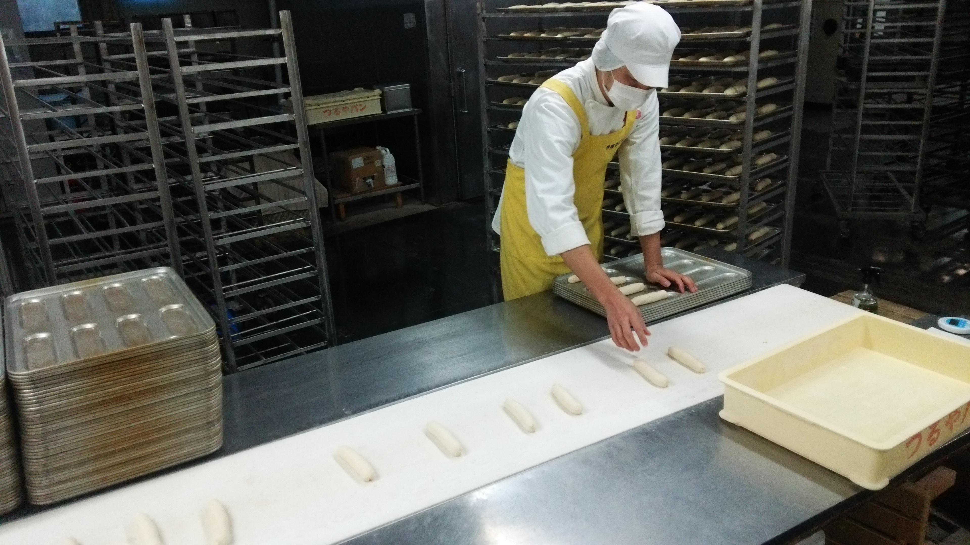 2016つるやパン製造始め